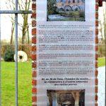 Plaque plexi site historique